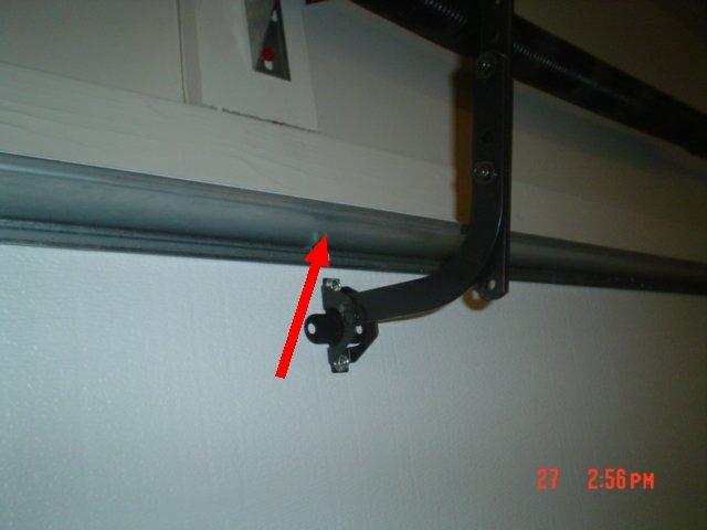 Garage Door Brace